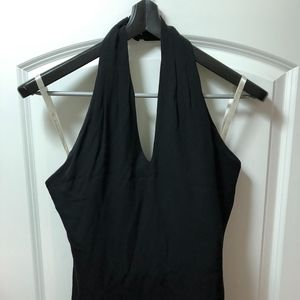 Shoshanna 100% silk halter dress